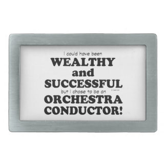 Orchestra Conductor Wealthy & Successful Belt Buckle
