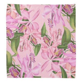 Orchid Flowers Bandana