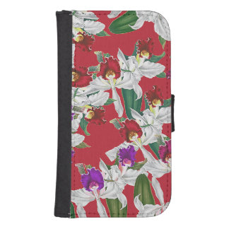 Orchid Flowers Samsung Galaxy Case