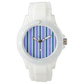 Orchid & Ocean Stripes Watch