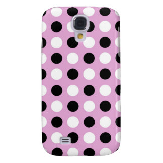 Orchid Polka Dots Galaxy S4 Case