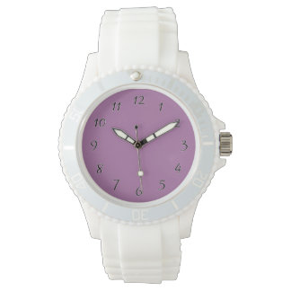 Orchid Purple template to personalize Customize Watches