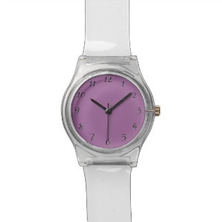Orchid Purple template to personalize Customize Wrist Watch