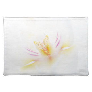 Orchid table set placemat