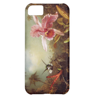 Orchid with Two Hummingbirds iPhone 5 Case