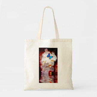 Orchids and the Butterfly Tote Bag