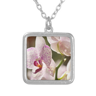 Orchids by Shirley Taylor Silver Plated Necklace
