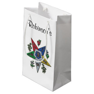 Order Of The Eastern Star Small Gift Bag