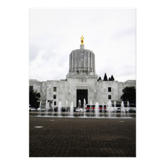 Oregon Capitol Personalized Invite