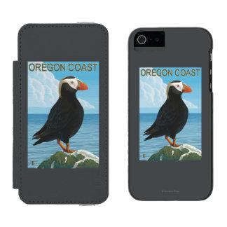 Oregon Coast Tufted Puffin Incipio Watson™ iPhone 5 Wallet Case
