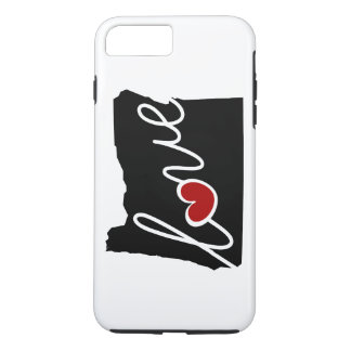 Oregon Love! Gifts for OR Lovers iPhone 8 Plus/7 Plus Case