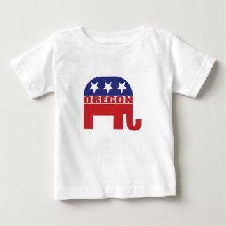 Oregon Republican Elephant Baby T-Shirt