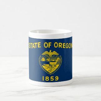 Oregon State Flag Coffee Cup Mug