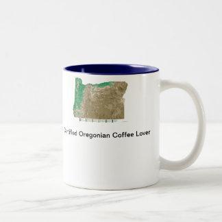 Oregonian Lovers Two-Tone Coffee Mug