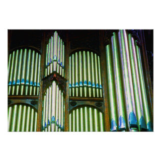 Organ Pipes (3) Poster