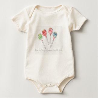 "organic body baby ""caramels "" baby bodysuit"