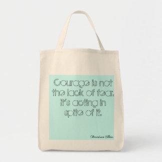 Organic courage bag
