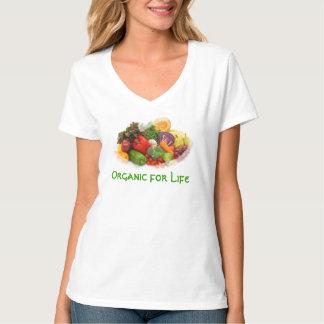 Organic for Life Veggies ladies tee shirt