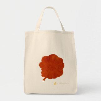Organic Grocery Tote bag Afro natural hair