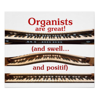 Organists are Great poster