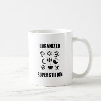 Organized Superstition Basic White Mug