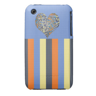 Oriel Heart ihone 3G/3Gs, Barely There iPhone 3 Cover