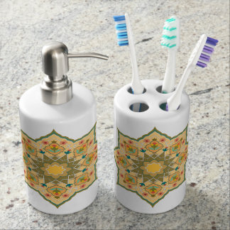 Oriental Bathroom kit Bath Accessory Sets