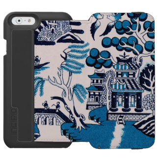 Oriental Design China Plate Pattern Incipio Watson™ iPhone 6 Wallet Case