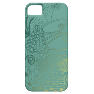 Oriental Doodle Art iPhone 5 Cases
