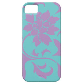 Oriental Flower - Lilac Mint Case For The iPhone 5