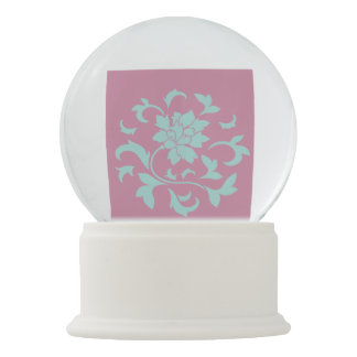 Oriental Flower - Limpet Shell Snow Globes