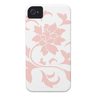 Oriental Flower - Rose Quartz Circular Pattern Case-Mate iPhone 4 Cases
