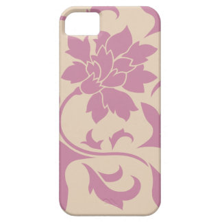 Oriental Flower - Strawberry Latte Barely There iPhone 5 Case