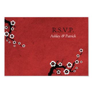 Oriental Sakura RSVP 3.5x5 Paper Invitation Card