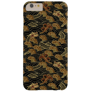 Oriental Sea Dragon Pattern Barely There iPhone 6 Plus Case