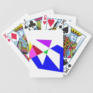 Origami Bicycle Playing Cards