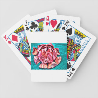 ORIGAMI FLOWER WITH ART EFFECTS BICYCLE PLAYING CARDS