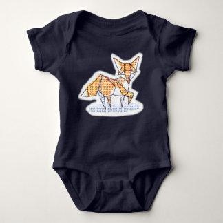 Origami fox bodysuit