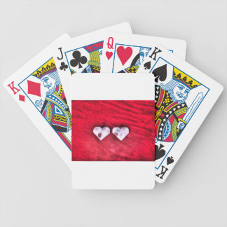 ORIGAMI HEARTS JAPANESE PAPER ART BICYCLE PLAYING CARDS