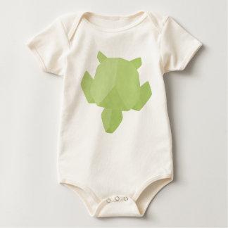 Origami Sea Turtle Baby Bodysuit