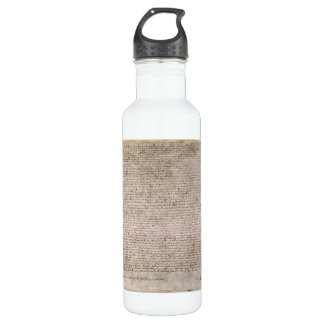ORIGINAL 1215 Magna Carta British Library 710 Ml Water Bottle