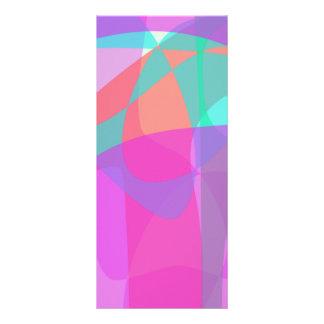 Original Abstract Rack Card Template