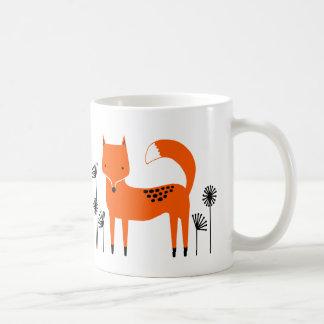"""Original art work"" Fred the Fox Coffee Mug"