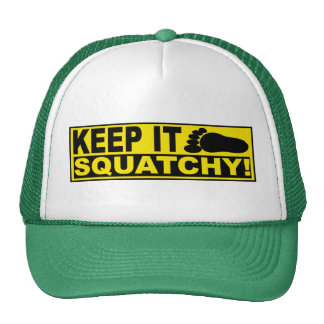 Original & Best-Selling Bobo's KEEP IT SQUATCHY! Hat