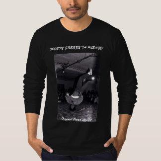 Original Crowd Pleaser Frosty Freeze Blk/wht T T-Shirt