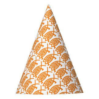 Original Darwin Fish (Light Orange) Party Hat