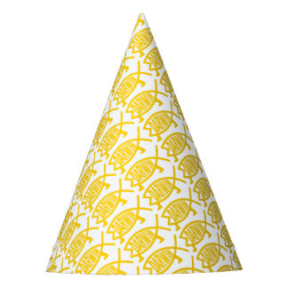 Original Darwin Fish (Mustard) Party Hat
