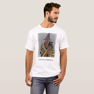 Original oil painting of NW Indian T-Shirt
