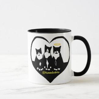Original TuxedoTrio Heart Mug