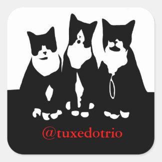 Original TuxedoTrio Square Stickers